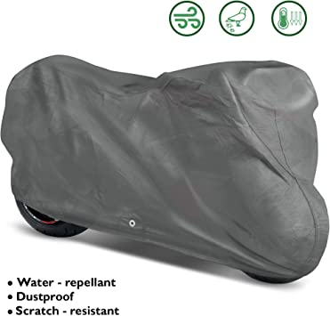Nelson-Rigg DC-505-05-XX Grey XX-Large Indoor Motorcycle Dust Cover