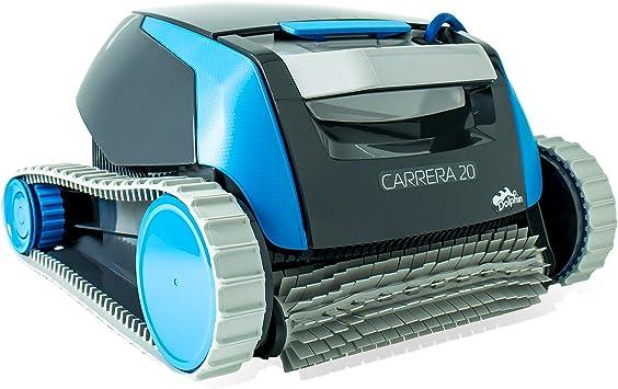 Dolphin Carrera 20 - Robot limpiafondos para piscinas (fondo y ...