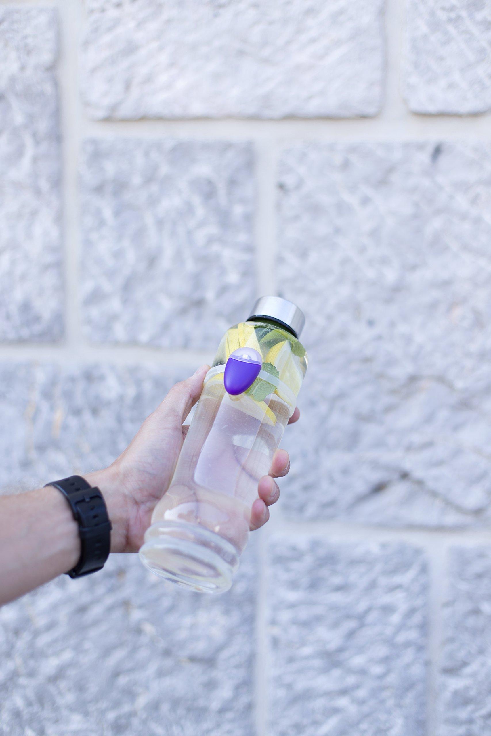 Ulla Smart Hydration Reminder - Lily Purple