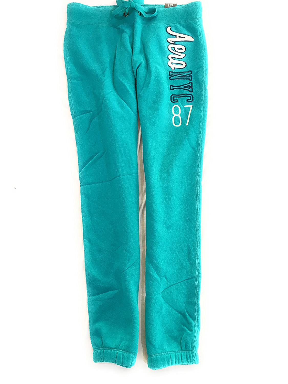 Aeropostale Women's Cinch Sweatpants With Aero NY 87 Logo Style 7497