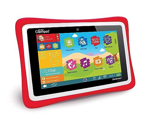 144 opinioni per Clementoni 13335- Il Mio Primo Clempad 5.0 Plus Tablet, Doppia Fotocamera,
