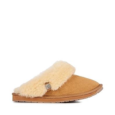 55332015ee EMU Australia Womens Slippers Platinum Eden Sheepskin Slipper in Chestnut  Size 7