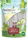 Organic Dark Rye Flour by Food to Live (Whole Grain, Non-GMO, Stone Ground, Kosher, Raw, Vegan, Bulk, Great for Baking…