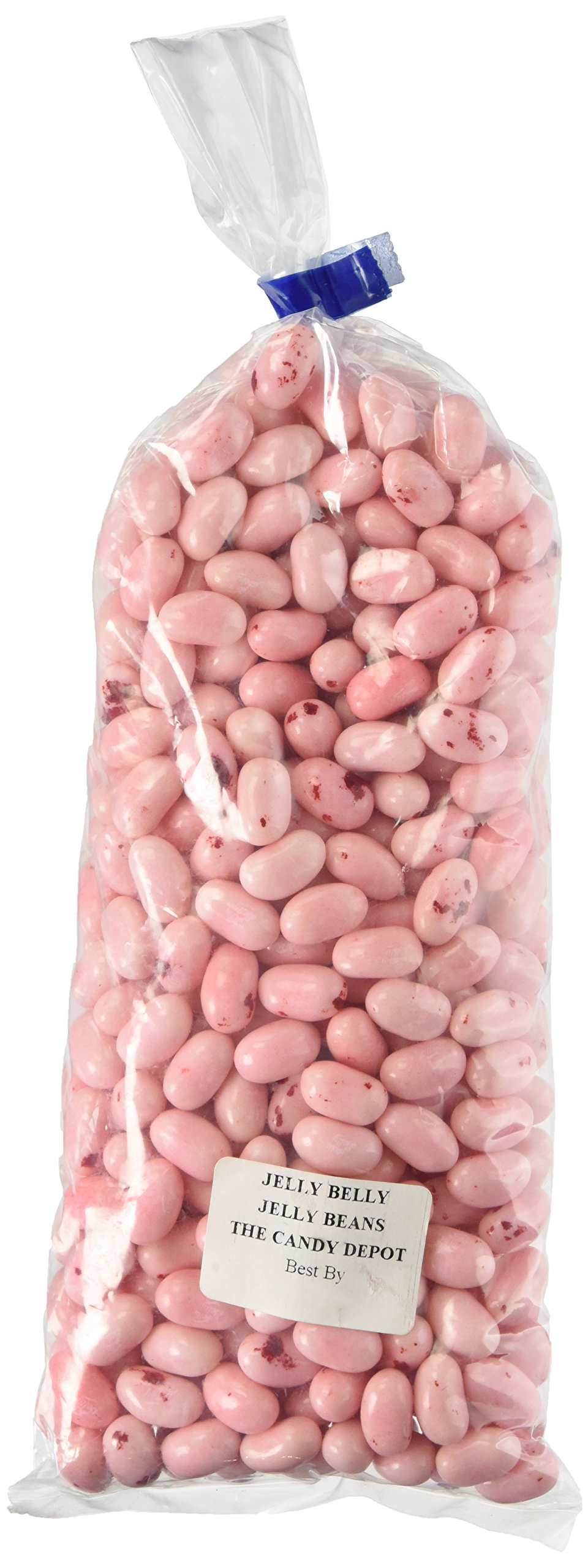 Jelly Belly Strawberry Cheesecake Jelly Beans (1 Pound Bag) - Pale Pink by Jelly Belly