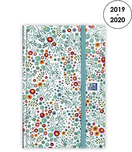 Oxford Flowers - Agenda 2019-2020 de agosto a agosto (1 ...