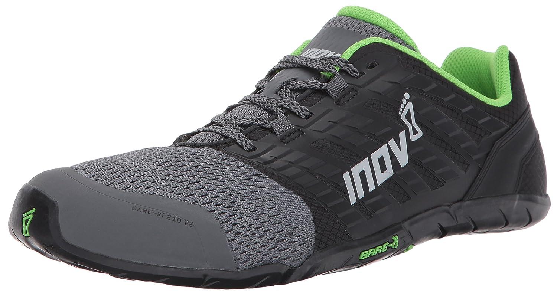 INOV-8 Chaussure d 'entraînement pour Homme Bare-XF 210 V2, Gris, 44 000642-GYBKGR-S-01