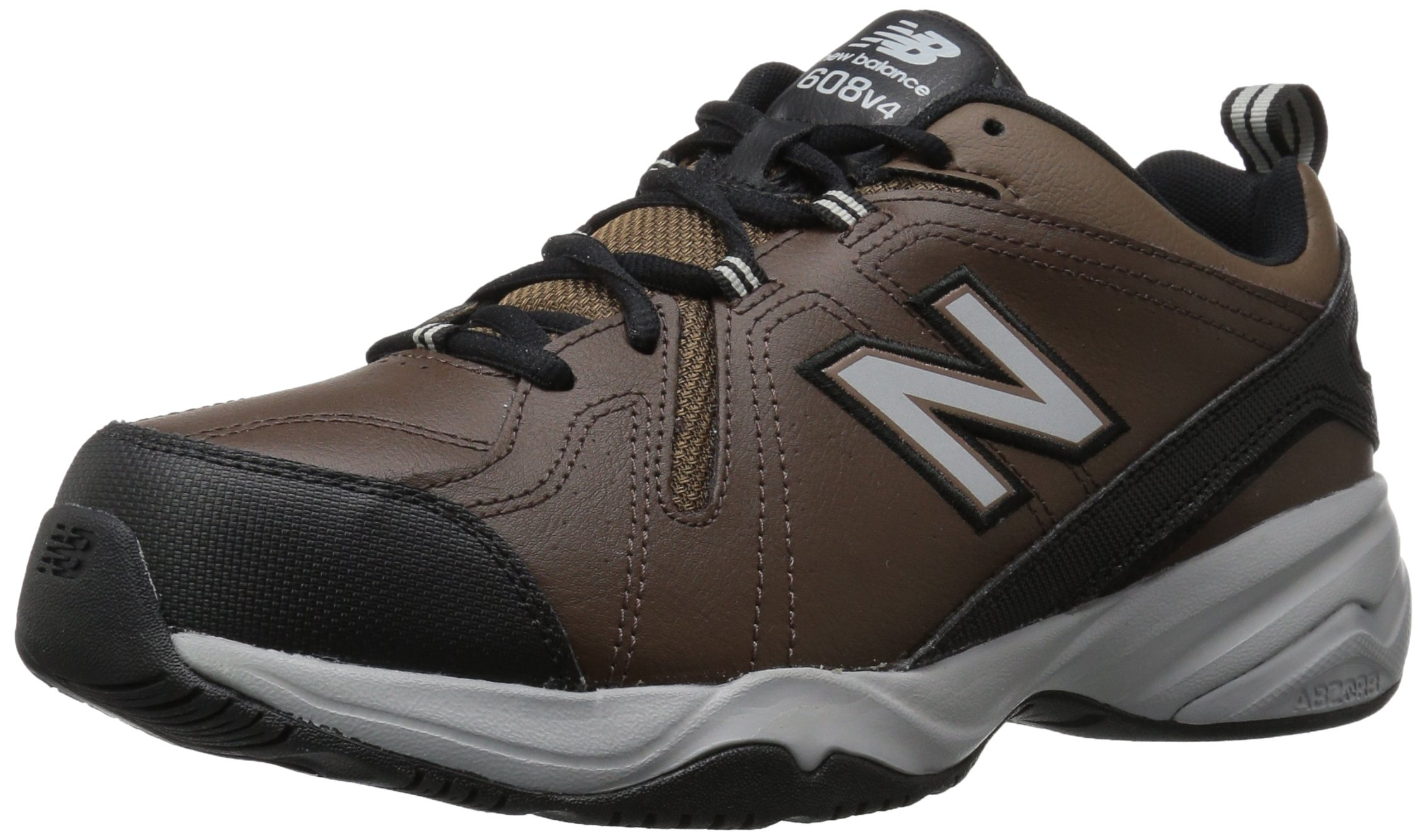 New Balance Men's MX608v4 Training Shoe, Brown, 9.5 D US