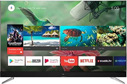 TCL U49C7006 - Televisor de 49 pulgadas, Smart TV con 4K UHD, HDR Premium, Wide Color Gamut, Android TV y JBL by HARMAN, Aluminio Cepillado: Amazon.es: Electrónica