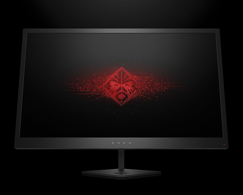 HP OMEN 25 - Monitor gaming de 25 pulgadas FreeSync (FHD, 1920 x 1080 pixeles, tiempo de respuesta de 1 ms, hasta 144 Hz, 3 puertos USB 3.0, 16:9) color negro: Hp: Amazon.es: Informática