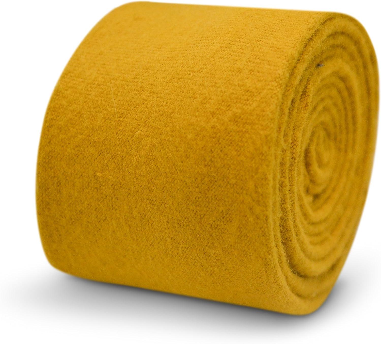 Frederick Thomas - Corbata - para hombre Amarillo amarillo mostaza ...