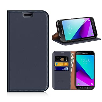 official photos f2a2d d5452 Mobesv Samsung Galaxy XCover 4 Wallet Case Samsung: Amazon.co.uk ...