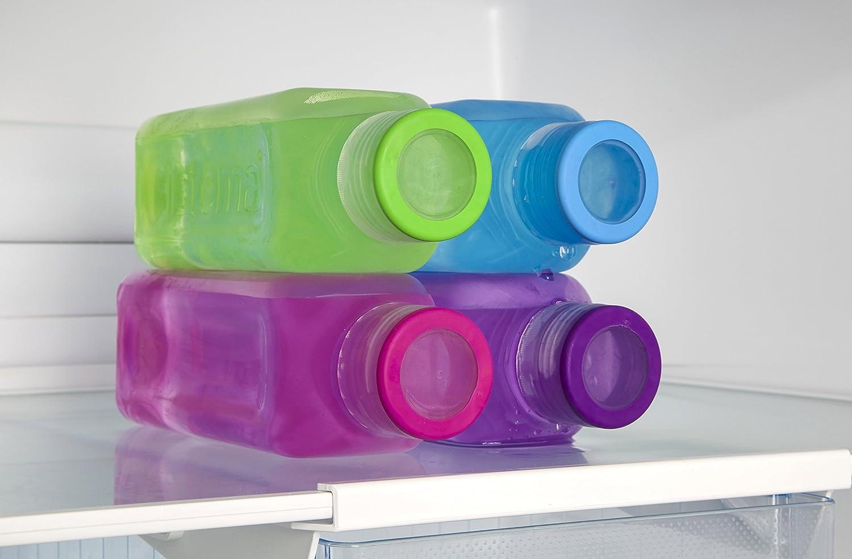 Amazon.com: Sistema 725 ml botella cuadrado (los colores ...