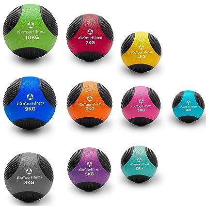 Balón medicinal »Medicus« / 1 - 10 kg / Balón de entrenamiento / Balón de peso / Balones de gimnasia de ligeros a pesados con calidad de gimnasio ...