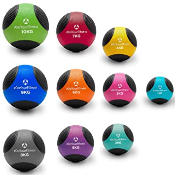 DoYourFitness Balón Medicinal »Medicus« / 1-10 kg/Balón de ...