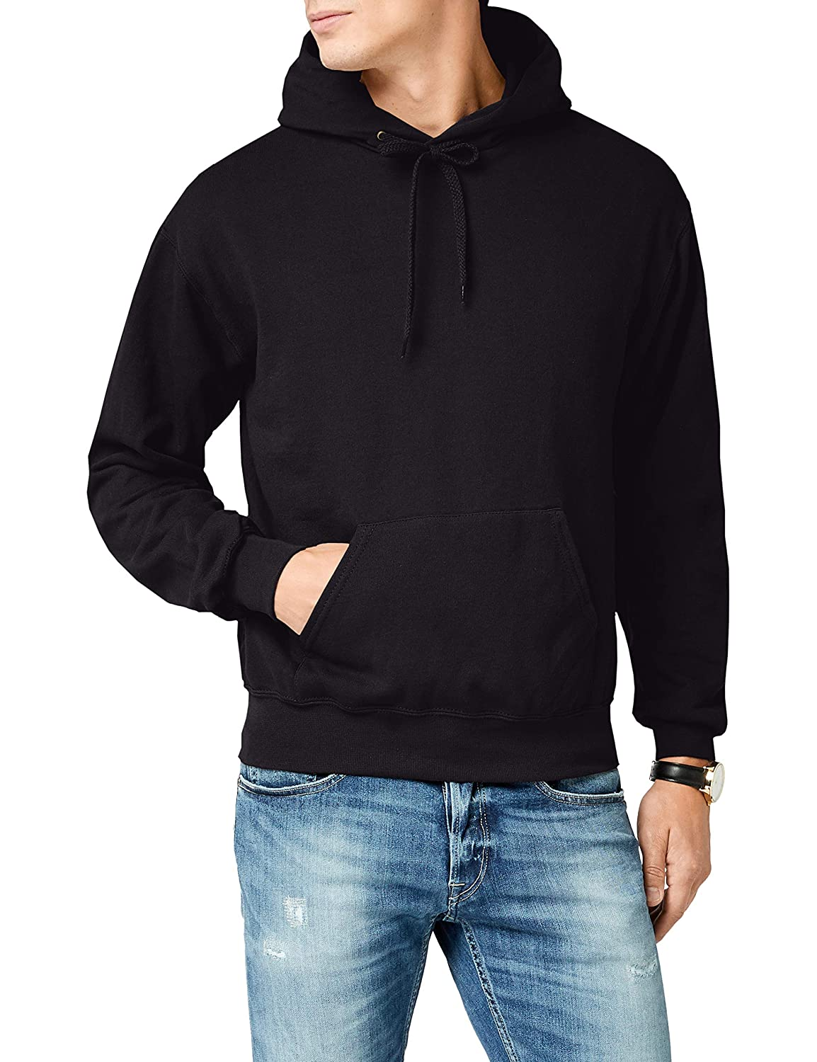 TALLA XXL. Fruit of the Loom 62-208-0, Sudadera con Capucha Para Hombre