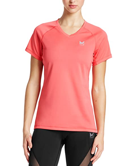 b1cd93c7f7e Image Unavailable. Image not available for. Color  Mission Women s  VaporActive Alpha Short Sleeve V-Neck T-Shirt ...