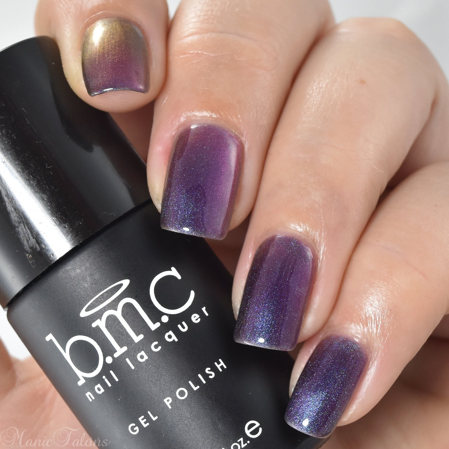 Amazon.com : BMC Iridescent Micro Shimmer Duotone Gel Nail Lacquers ...