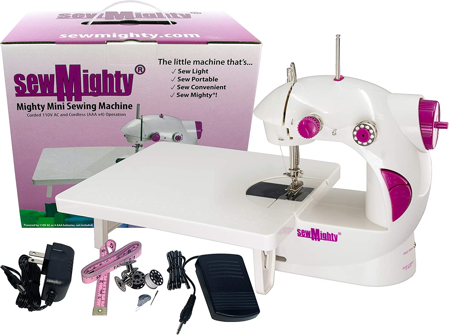 Sew Mighty Portable Sewing Machine