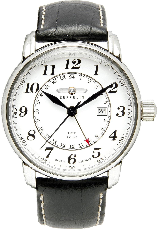 Zeppelin Inspiration 7642-1 3 Zeiger Uhr fÜr Ihn Made in Germany