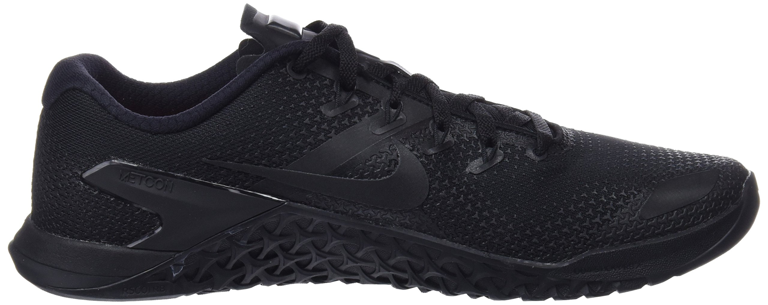 Nike Men's Metcon 4 Training Shoe Black/Black-Black-Hyper Crimson 7.5 by Nike (Image #6)