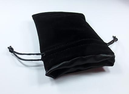 Amazon.com: 4 x 5 la Void Negro Premium Negro Velvet Dados ...