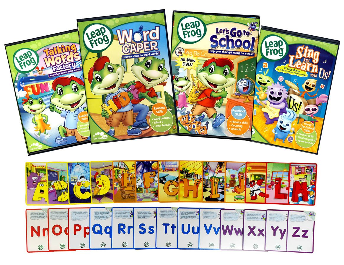 Amazon.com: Leap Frog Learning Pack # 2 (Talking Words factory