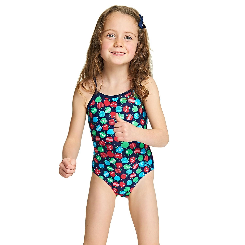 Zoggs, costume da bagno per ragazze Appletizer Yaroomba