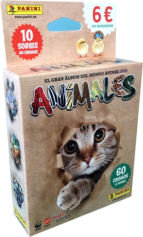 Panini- Animales 2019 Cromos (003713KBE10): Amazon.es: Juguetes y ...
