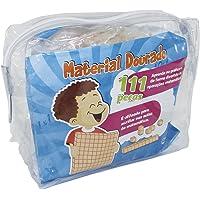 Material Dourado Individual 111 Peças em Madeira, Embalagem Sacola Plástica, A Partir de 0 Anos Ciabrink