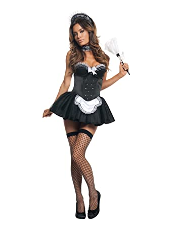 sc 1 st  Amazon.com : vinyl french maid costume  - Germanpascual.Com