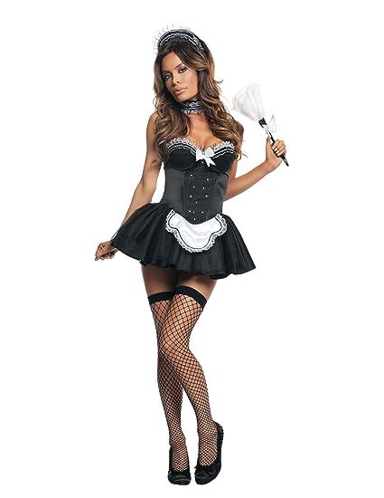 43148a7c843 Starline Seductive Sexy Maid Costume Set