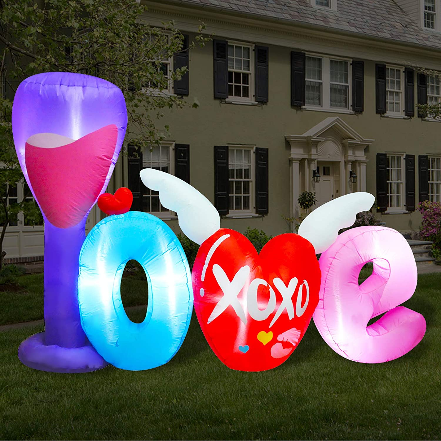 Valentines Day Yard Inflatables