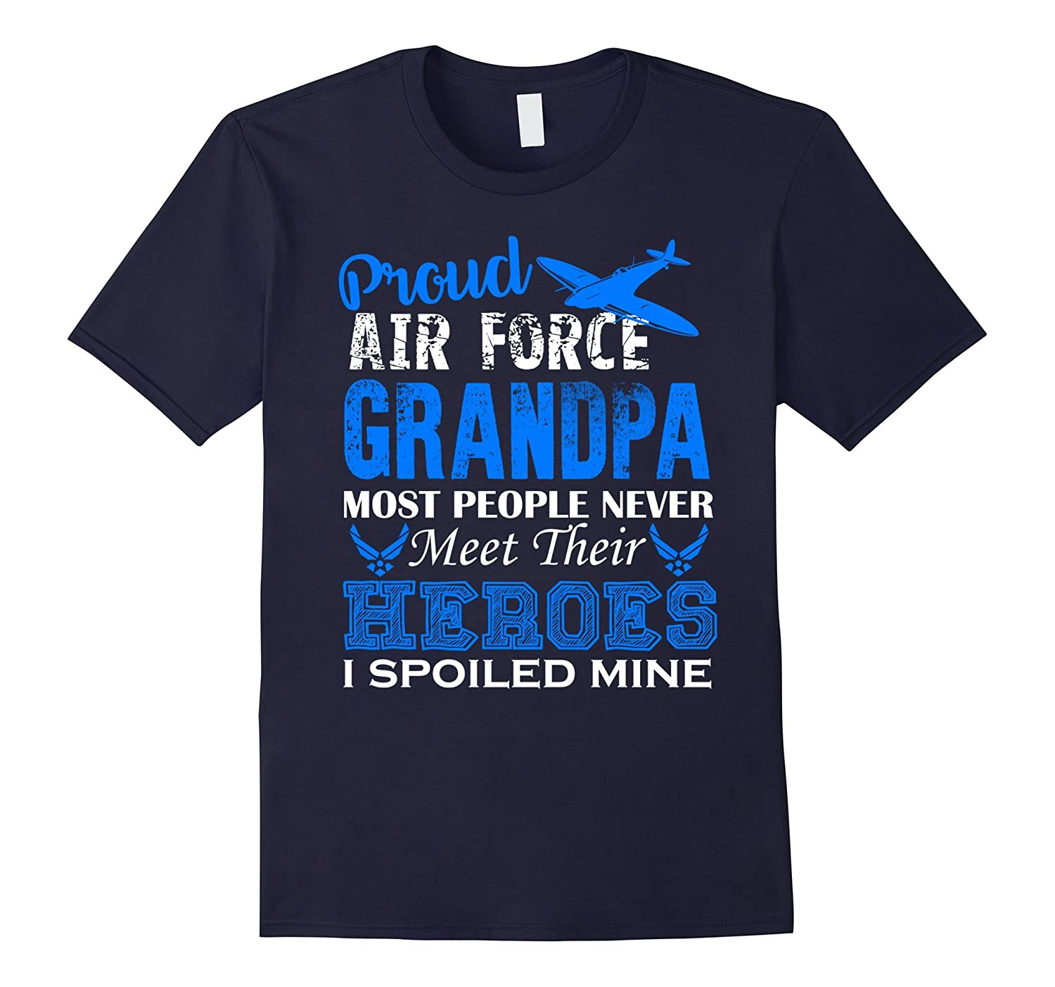 Air Force Grandpa Shirt - Proud Air Force Grandpa Shirts-BN