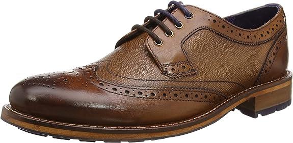 TALLA 43 EU. Ted Baker Hombre Cassiuss 4 Zapatos de cordones derby