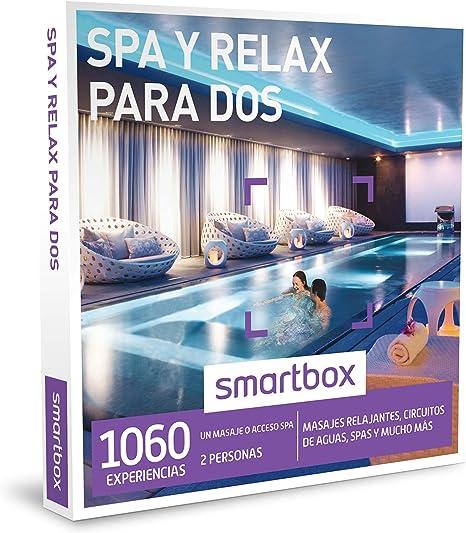 SMARTBOX - Caja Regalo - SPA Y RELAX PARA DOS - 1060 masajes ...
