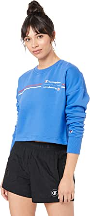Champion Women's Sporty Cropped Pullover