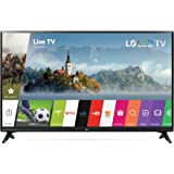 LG Electronics 43LJ5500 43-Inch 1080p Smart LED TV (2017 Model)