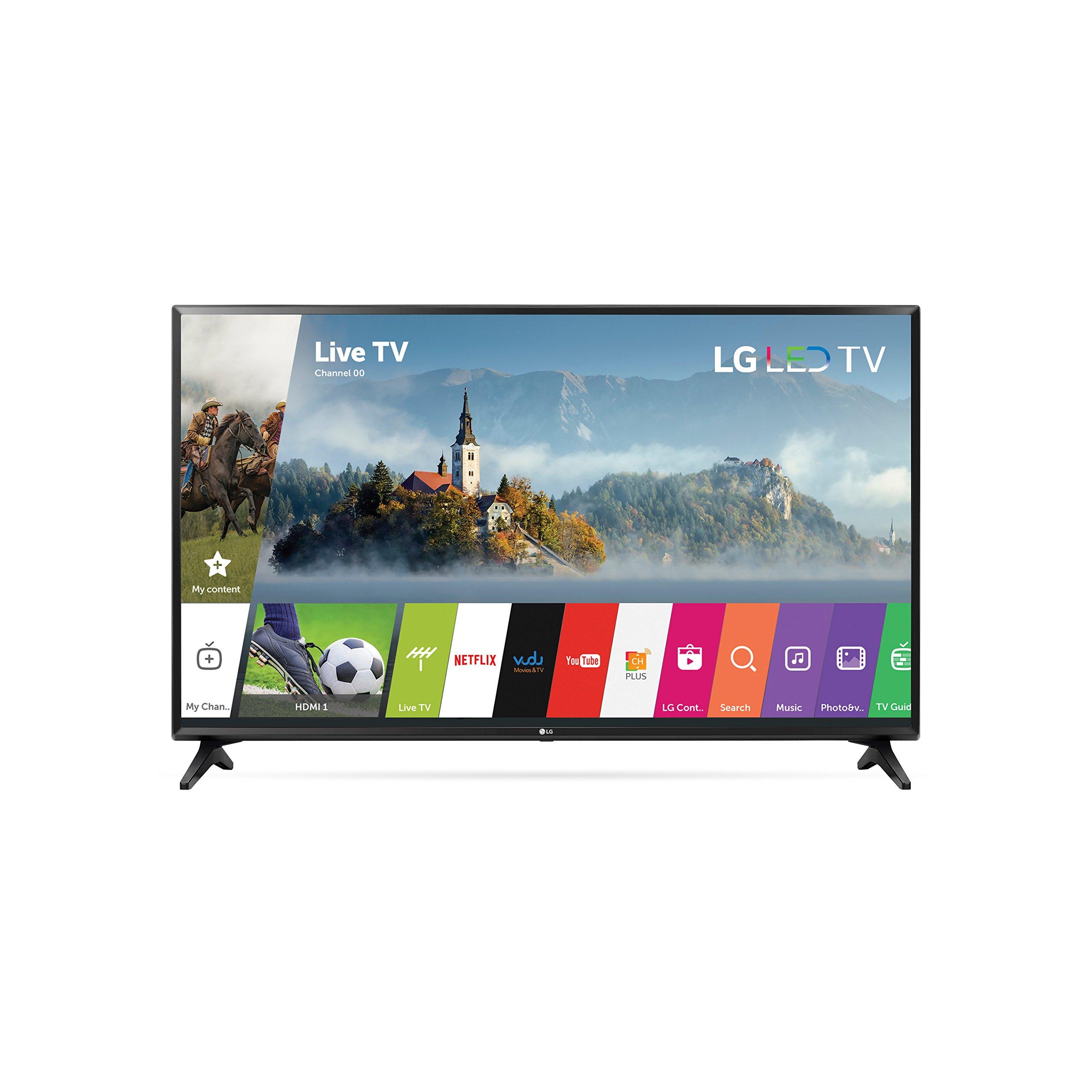 LG Electronics 43LJ5500 43-Inch 1080p Smart LED TV (2017 Model) by LG