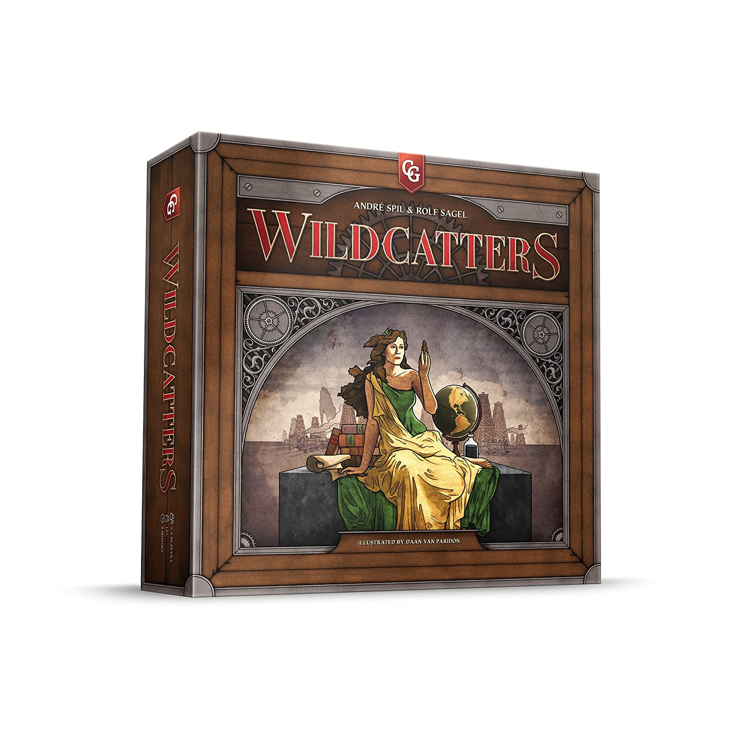 Capstone Games Wildcatters Game Board