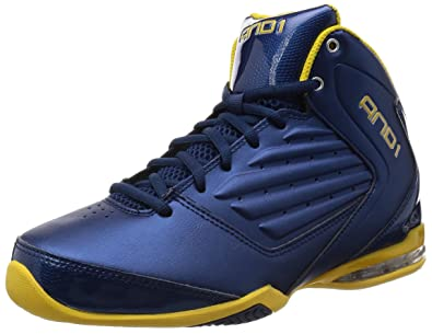 AND1 , Chaussures spécial Basket Ball pour Homme: