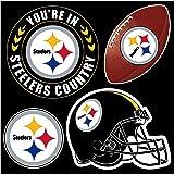 Amazon.com : NFL Pittsburgh Steelers 12-Inch Vinyl Logo