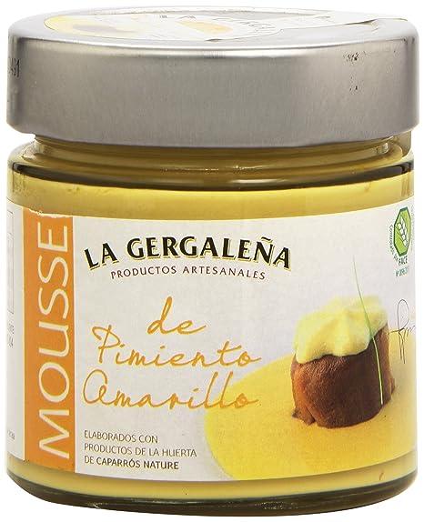 La Gergaleña Productos Artesanales Mousse de Pimiento Amarillo - 235 gr