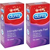 Durex Intimate Elite Feel Condom Box of 12 - Pack of 2