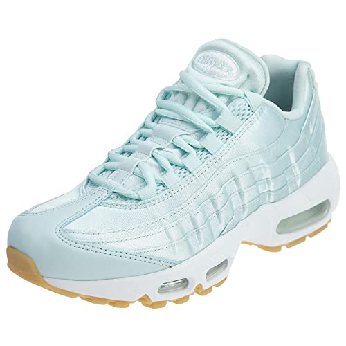 promo code 01ec5 82968 Nike Womens Air Max 95 WQS Lace-Up Low Top Fashion Sneakers Blue 6 Medium