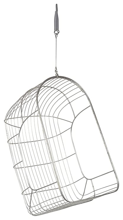 JEEL JHULA Basket Washable Swing/Hammock (Silver Color)