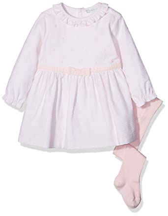 34309cb25 Tutto Piccolo Baby Girls  ZOLA 3218W17 Dress with Woollen Tights ...