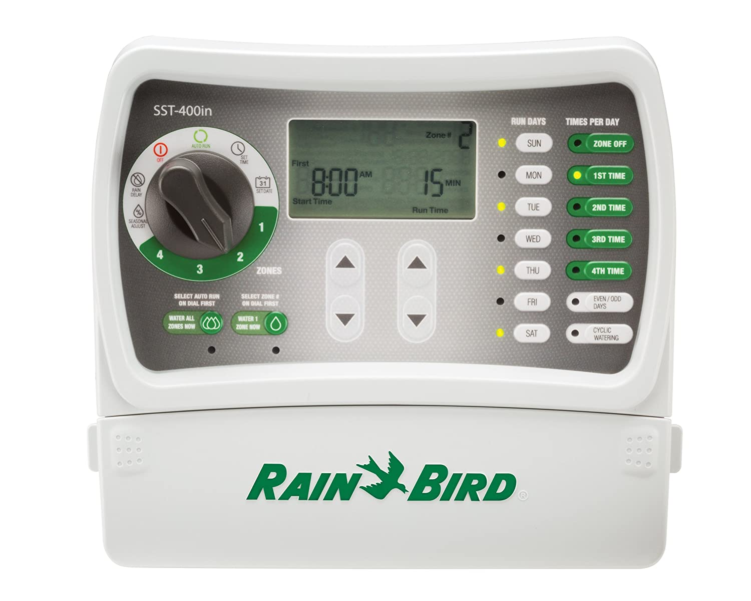 Rain Bird SST400IN Irrigation Timer Indoor 4-Station