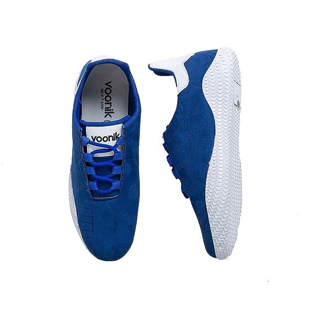 Buy voonik Men's Blue Casual Shoe-8 at