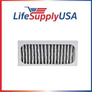 LifeSupplyUSA 3 Pack Replacement HEPA Filter Compatible with Hunter 30912 30917 30027 30028 30030 300705 36027 37027 Air Purifiers