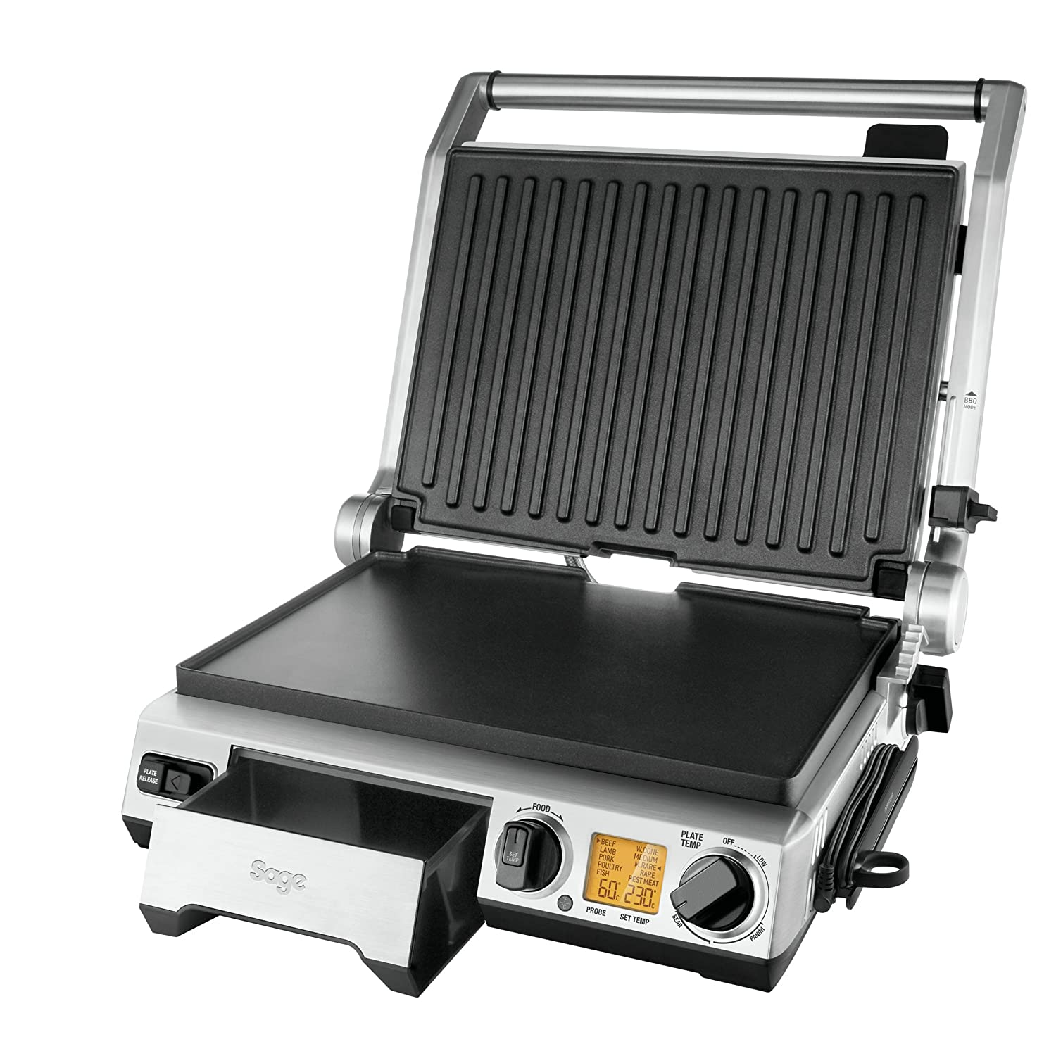 Sage by Heston Blumenthal the Smart Grill Pro, 2400 W by ...